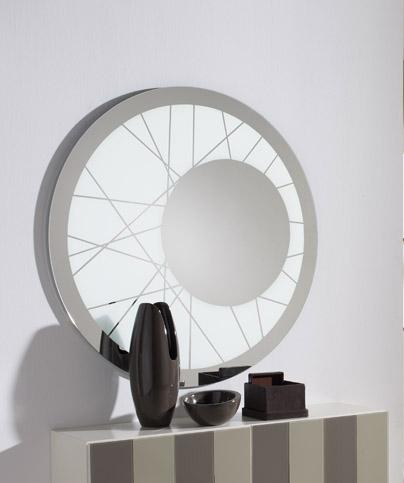 Espejos modernos uno para ti espejos decorativos for Espejo circular
