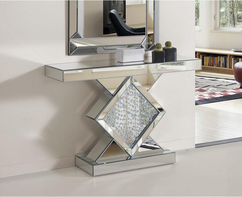 Recibidores de cristal decide el que es para ti for Espejos originales recibidor