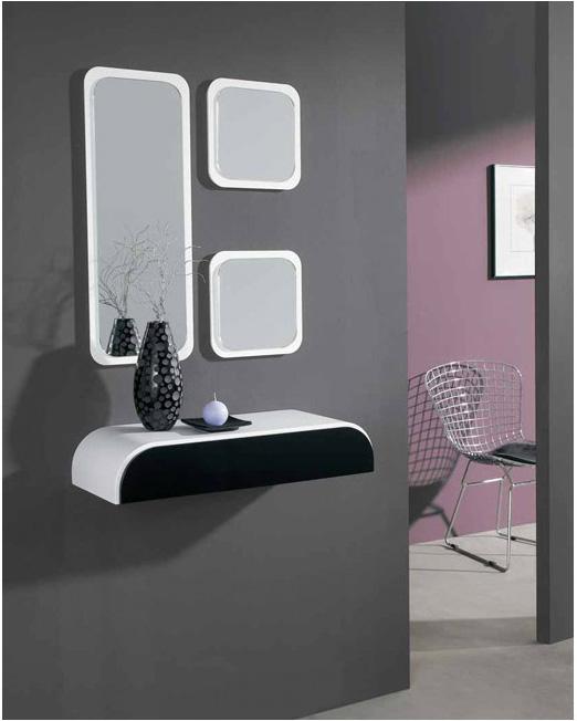 combnalo con los espejos decorativos que ms te gusten de los modelos disponibles en la tienda online puedes decorar tu entrada con espejos modernos de